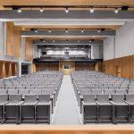 La nuova Aula Magna della Luiss a Roma. Un auditorium dinamico firmato Studio Gemma e Alvisi Kirimoto